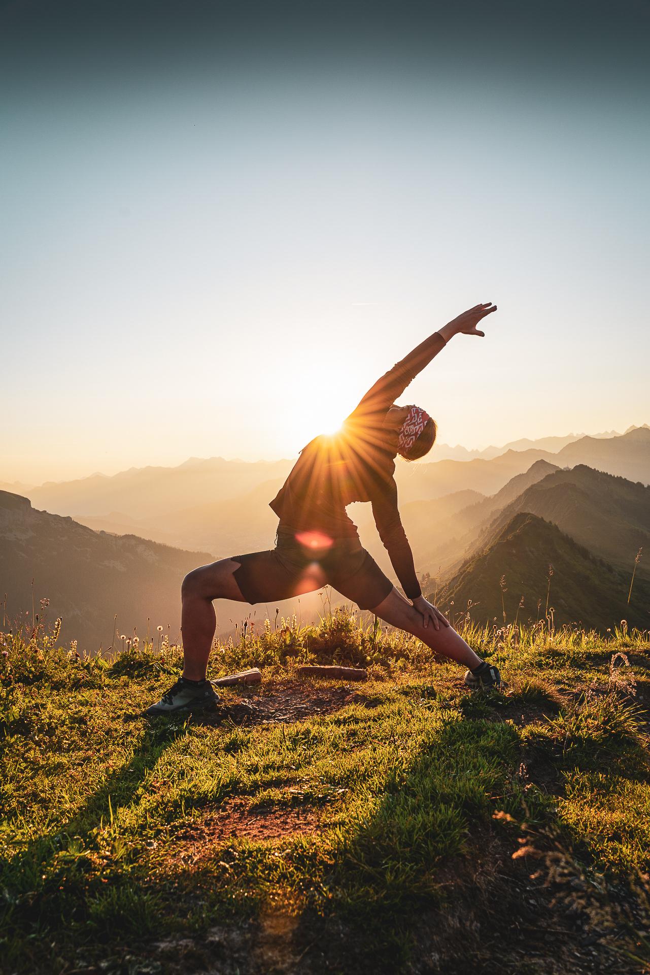 Yoga auf der Tannenhütte